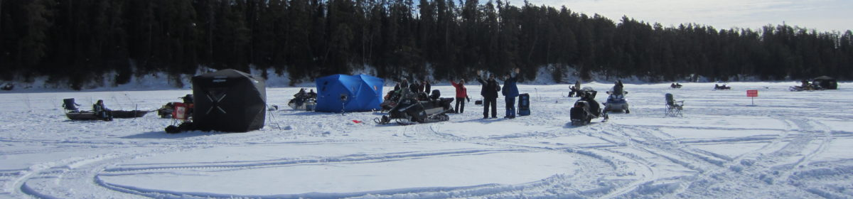 Come and Join Us In The Annual Watabeag Laker Ice Fishing Derby                     March 9, 2019